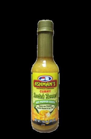 Ashman's Curry Scotch Bonnet Hot Pepper Sauce
