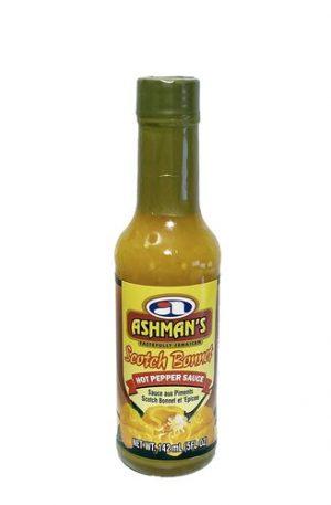 Ashman's Scotch Bonnet Hot Pepper Sauce