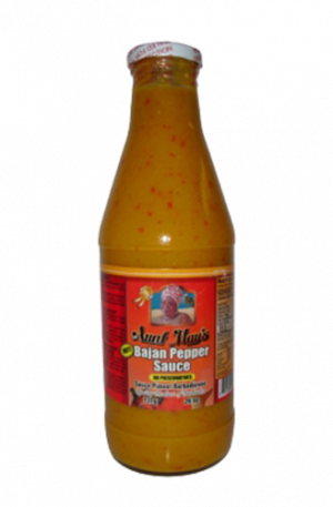 Aunt May's Bajan Hot Pepper Sauce 26oz