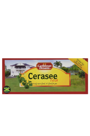Caribbean Dreams Cerasee Tea (pack of 24 tea bags) | All Natural, Caffeine Free Tea