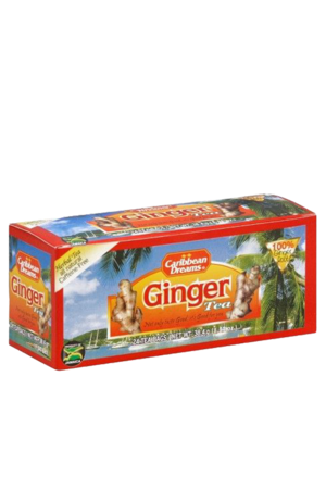 Caribbean Dreams Ginger Tea (pack of 24 tea bags) | Caffeine Free