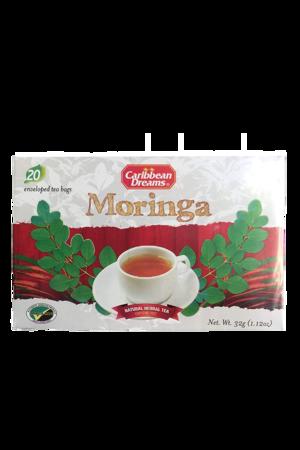 Caribbean Dreams Moringa Tea (20 pack) | Caffeine Free