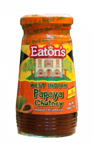 Eaton's West Indian Papaya Chutney from Jamaica