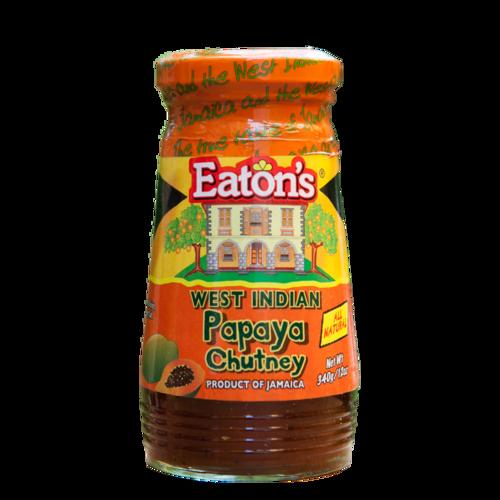 Eaton's West Indian Papaya Chutney Anjo's Imports
