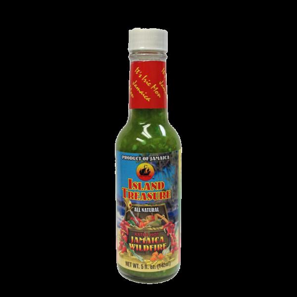Island Treasure Wildfire Pepper Sauce 5oz Anjo's Imports