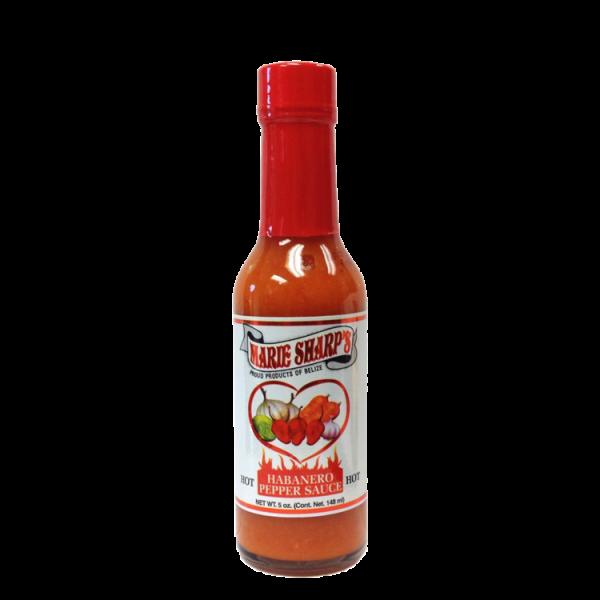 Marie Sharp's Habanero Pepper Sauce (HOT) 5oz Anjo's Imports