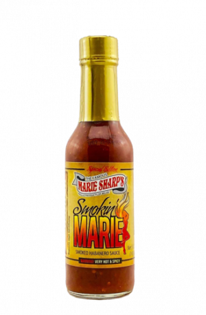 Marie Sharp's Smokin Marie Habanero Pepper Sauce from Belize (EXTRA HOT)