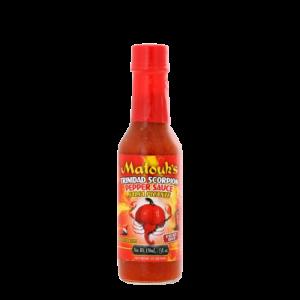 Matouk's Trinidad Scorpion Pepper Sauce From Trinidad