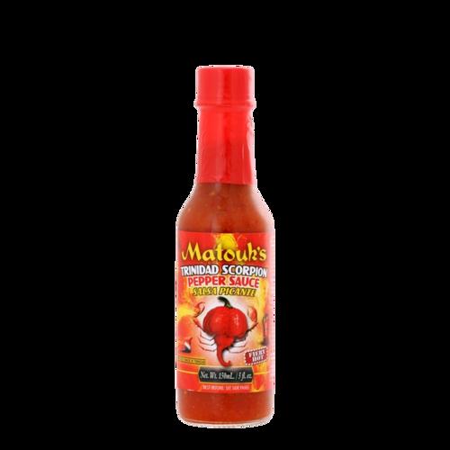 Matouk's Trinidad Scorpion Pepper Sauce 5oz Anjo's Imports