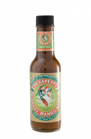 Pickapeppa Gingery Mango Sauce from Jamaica