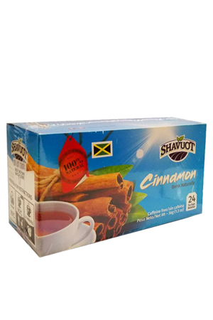Shavout Cinnamon Tea – Herbal tea from Jamaica | 100% Natural