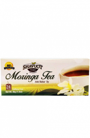 Shavout Moringa Tea – Herbal tea from Jamaica | 100% Natural (24pack)