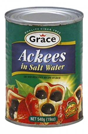 Grace Ackees In Salt Water from Jamaica (24 pack of 19oz)