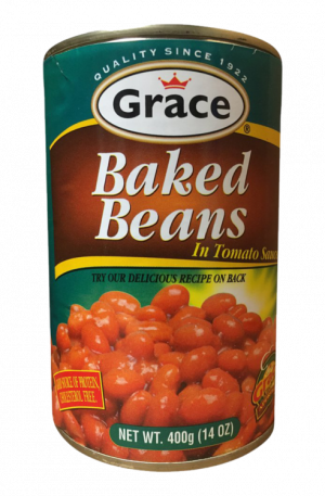 Grace Baked Beans in Tomato Sauce (pack of 24 x 14oz)