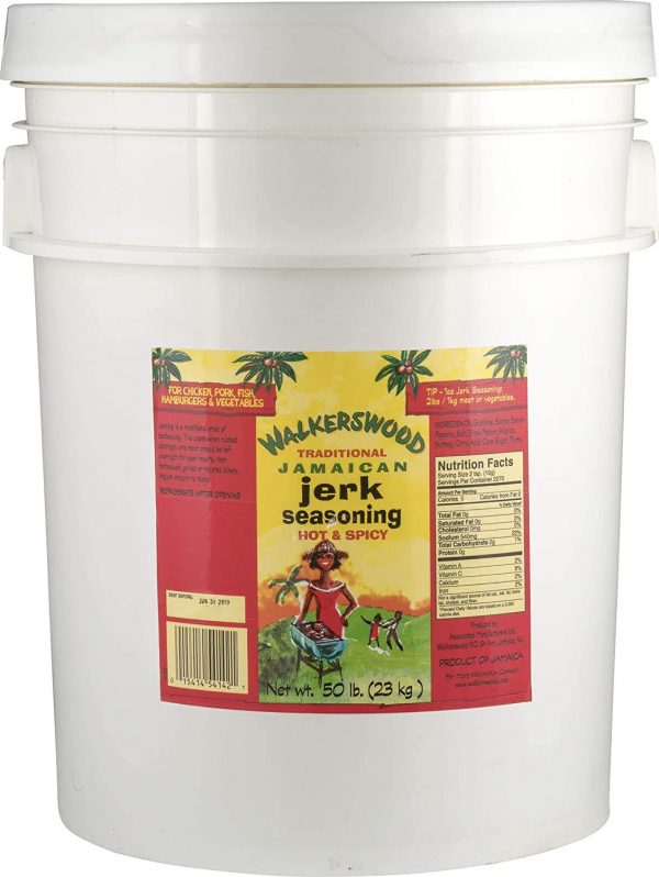 Walkerswood Jerk Seasoning Hot and Spicy 9.25lb Anjo's Imports
