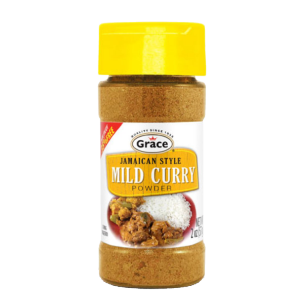 Grace Jamaican Style Curry Powder Mild Anjo's Imports