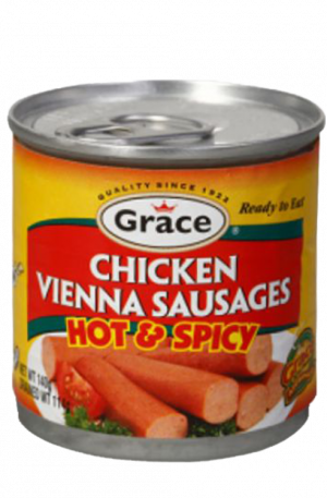 Grace Chicken Vienna Sausages | Hot & Spicy