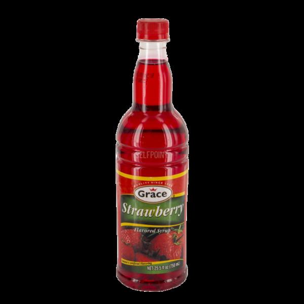 Grace Strawberry Syrup Anjo's Imports