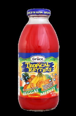 Grace Tropical Rhythms Reggae Medley Juice