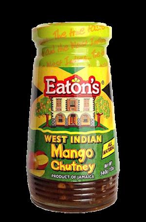 Eaton's West Indian Mango Chutney Anjo's Imports