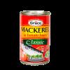 Grace Mackerel in Tomato Sauce Classis Anjo's Imports