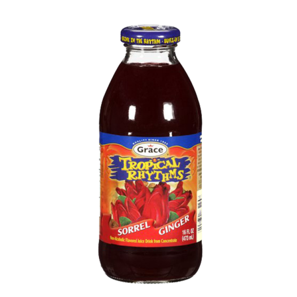 Grace Tropical Rhythms Sorrel Ginger Juice Anjo's Imports