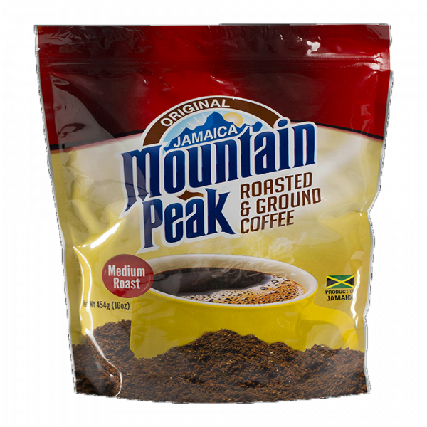 Jamaica Mountain Peak Roasted and Ground Coffee Anjo's Imports
